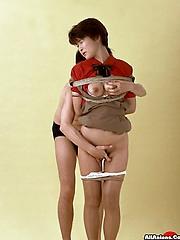 Asian bondage torture fuck