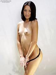 Ayla slides out of her sexy bikini