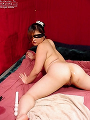 Amy gets fucked doggie style